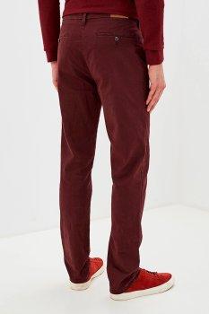 Бордовые мужские брюки чинос Lizard