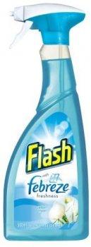 Мультизадачний спрей-очиститель для разных поверхностей Flash Febreze MULTI CLEANER SPRAY COTTON BLOSSOM 500ML