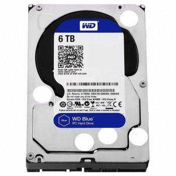 "Жорсткий диск 3.5"" 6TB (5400 rpm, 256MB, SATAIII) WD Blue (WD60EZAZ)"
