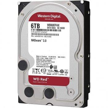 "Жорсткий диск 3.5"" 6TB (5400 rpm, 256MB, SATAIII) WD Red (WD60EFAX)"