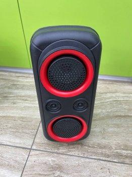 Портативная Bluetooth колонка JBK- 8901, Black, USB, FM, Акустическая система, С музыкальной подсветкой