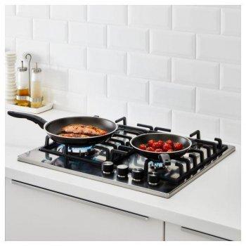 Набор сковородок IKEA KAVALKAD 401.393.21 2 штуки Черный