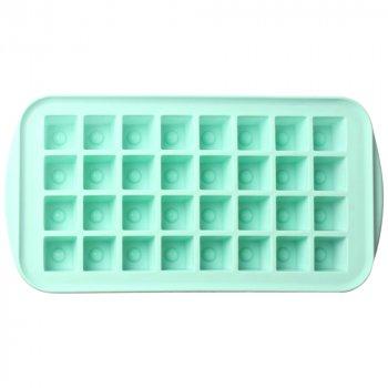 Форма для льда Actuel, 32 ячейки, силиконовая, голубая
