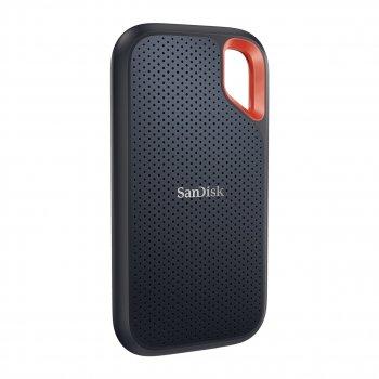 Портативний SSD SanDisk Extreme Portable Extreme E61 1 ТВ Portable USB 3.2 Type-C 3D NAND, TLC Black (SDSSDE61-1T00-G25)