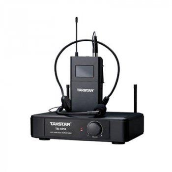 Радіосистема з наголовним та петличним мікрофоном Takstar ТЅ-7210PMS