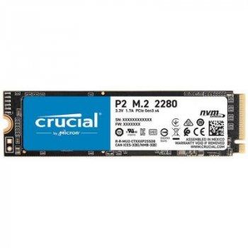 Накопитель SSD M.2 2280 500GB MICRON (CT500P2SSD8)