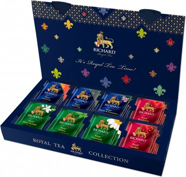 Подарочный набор Richard Royal Tea Collection чайное ассорти в пакетиках 40 пакетиков (4823063705929)