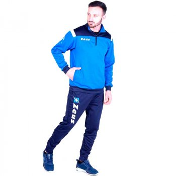 Спортивный костюм Zeus TUTA TRAINING VESUVIO Z00652 цвет: темно-синий/голубой