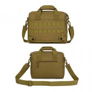 Сумка тактическая повседневная EDC tablet-bag classic Protector Plus khaki