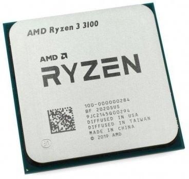 Процессор AMD AM4 Ryzen 3 3100 (3.6GHz 4 Core 8 Thread 16Mb) Tray