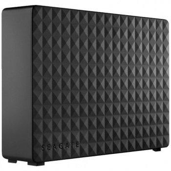 """Зовнішній жорсткий диск 3,5"""" 8Tb Seagate STEB8000402 Expansion, Black, USB 3.0"""