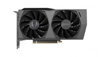 Видеокарта GeForce RTX 3060 Ti 8Gb GDDR6 Zotac Twin Edge OC (ZT-A30610H-10M)