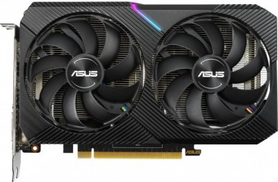 Відеокарта GeForce GTX 1660 Super 6Gb GDDR6 Asus Dual Mini OC (DUAL-GTX1660S-O6G-MINI)