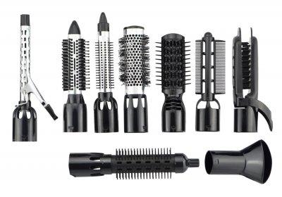 Воздушный стайлер для волос Gemei GM 4835 10 в 1