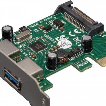 Плата расширения Frime PCI-E to USB3.0 (2 порта) NEC720202 (ECF-PCIEtoUSB004.LP)