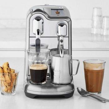 Капсульная кофемашина профессиональная Nespresso Creatista Pro серебристая