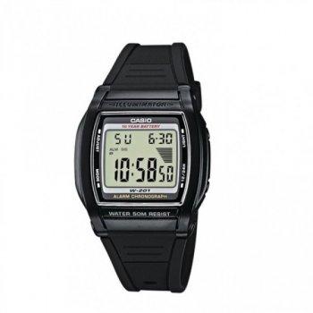 Мужские электронные часы Casio Black наручные спортивные на полимеровом ремешке + коробка (1006-1844)