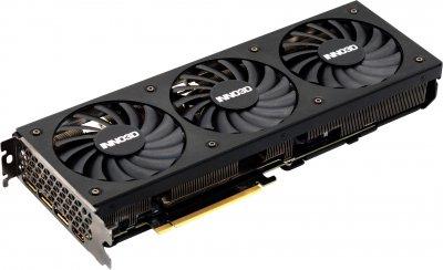 INNO3D PCI-Ex GeForce RTX 3070 Ti X3 OC 8GB GDDR6X (256bit) (1785/19000) (HDMI, 3 x DisplayPort) (N307T3-086XX-1820VA45)