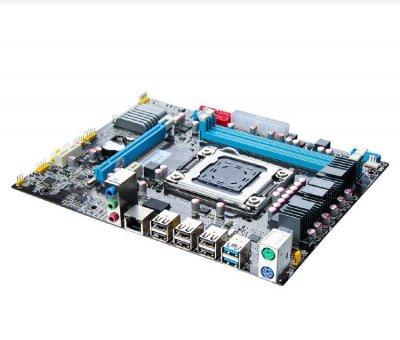 Материнская плата Qiyida X79-6M (s2011, Intel X79, PCI-Ex16)
