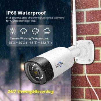 Беспроводная WiFi / IP камера видеонаблюдения Hiseeu TZ-HB312