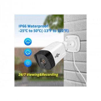 POE камера видеонаблюдения Hiseeu HB212-P 2Mp