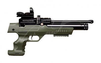Пистолет пневматический Kral NP-01 PCP 4.5 мм ц: olive