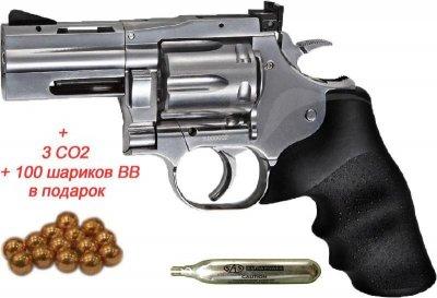 Револьвер пневм. ASG DW 715 Pellet (18615)
