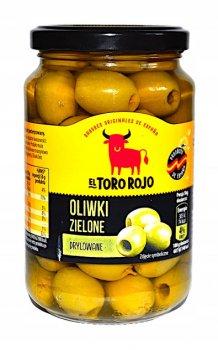 Оливки зеленые без косточки El Toro Rojo 340г