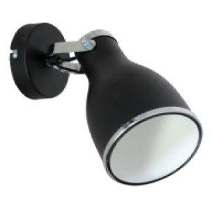 Настінний світильник бра Luminex Bjorn Чорний (7513)