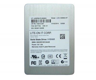 "Накопитель SSD 128GB Lite-ON 2.5"" SATAIII MLC (LCS-128M6S) Refurbished"