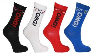 Набір шкарпетки Montebello 996 4 пари Різнокольорові (Cozy sock)