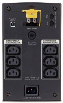 Джерело безперебійного живлення APC Back-UPS 1400VA IEC (BX1400UI)