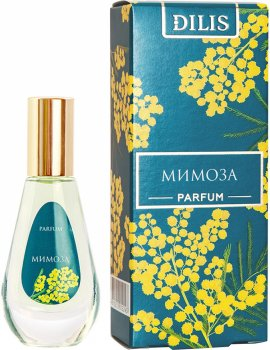 Духи для женщин Dilis Parfum Цветочная линия Мимоза 9.5 мл (4810212012243)