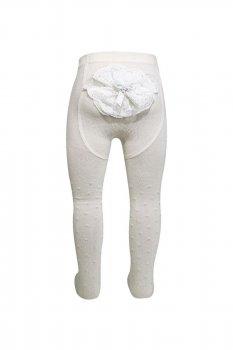 Туфлі дитячі колготки для новонароджених дівчаток Bross Туреччина ріст 74 - 80 см жовті 11741