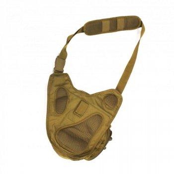 Сумка-кобура тактическая оперативная плечевая 5.11 PUSH Pack Coyote Brown