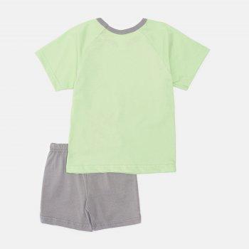 Пижама (футболка + шорты) Smil Explore 104826 Зеленое яблоко