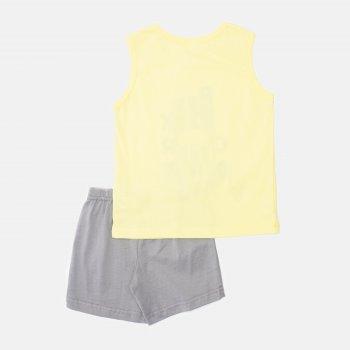 Пижама (майка + шорты) Smil Explore 104827 Желтая
