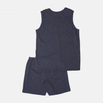 Пижама (майка + шорты) Smil Explore 104831-1 Синяя
