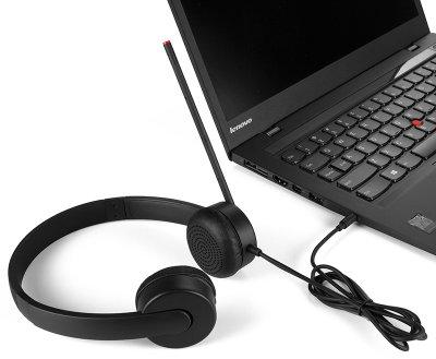 Навушники Lenovo Essential Stereo Analog Headset (4XD0K25030)