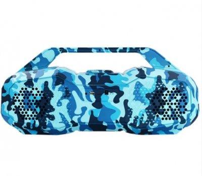 Мобильная колонка Daniu DSP 1607 камуфляж синий