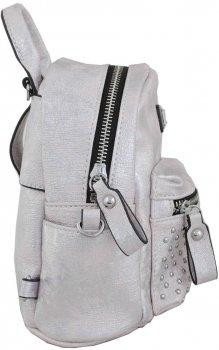 Сумка-рюкзак Yes Weekend 17x20x8 см Серебро (5009075532312) (553231)
