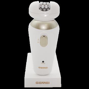 Эпилятор бритва пемза Gemei GM 7005 5в1 электробритва женская Best hair trimmer
