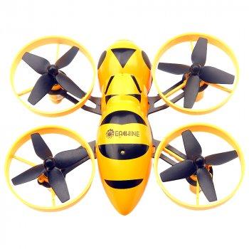 Квадрокоптер Eachine Fatbee FB90 міні з камерою FPV 5.8 ГГц, радіус дії 100 м 2,4 ГГц 400 мАч (BNF FlySky)
