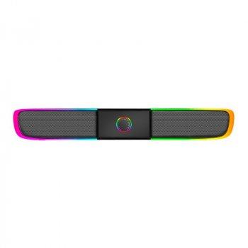 Акустика (колонка) для ПК с подсветкой Xtrike SK-600 Wired Speaker Black
