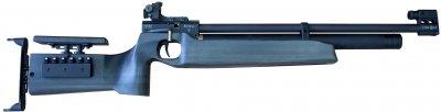 Пневматична гвинтівка (PCP) ZBROIA Biathlon 450/220 (7.5 Дж, Чорний)