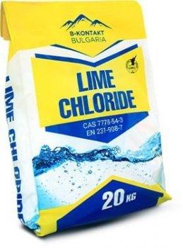 Засіб для дезінфекції Вапно Хлорне Lime Chloride Calcium Hypochlorite 24-26% B-KONTACT 20 кг