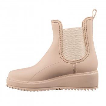 Резиновая обувь женские Casual Кеж-2076-191 beige-191