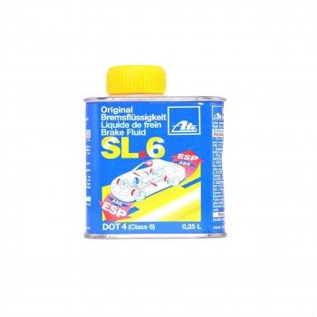 Тормозная жидкость ATE Brake Fluid SL.6 DOT-4 0.25 л (03.9901-6408.2)
