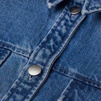Джинсовая куртка H&M 9213802sm Светло-синяя