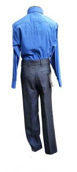 Брюки подростковые зимние для мальчика West-Fashion 308Д флис